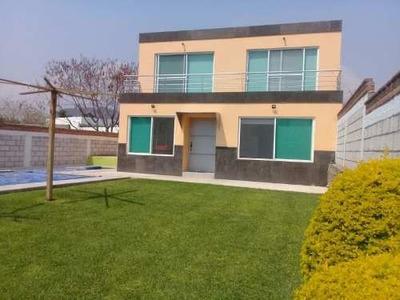 Casa Sola En Venta Fracc. Pedregal De Oaxtepec