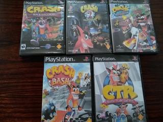 Todos Los Crash Bandicoot (ps1 Chipeada)