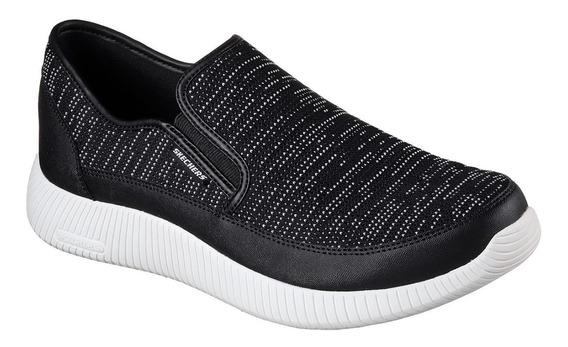 Zapatillas Skechers Depth Charge Hombre Caminata Importadas