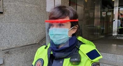 Mascara De Protección Facial Fabricada En Plástico Inyectado