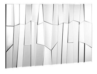 Imagen 1 de 5 de Espejo Modelo Glacier - Gris Këssa Muebles