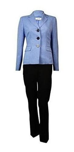 Le Suit Chaqueta Y Pantalon Para Mujer Talla Grande 3 Bo Mercado Libre