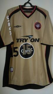 Camisa Atlético Paranaense - Umbro Dourada 2003