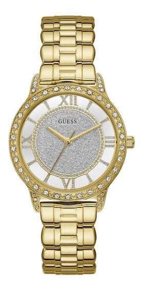 Relógio Guess Feminino Banhado A Ouro 92663lpgdda1 -original