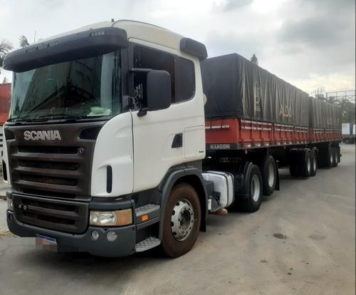 Scania G420 Motor Novo Caminhão Cama Gaucha Interclima