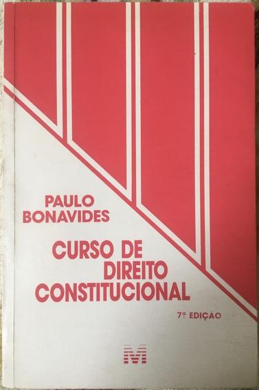 Livro - Curso De Direito Constitucional 7° Edição