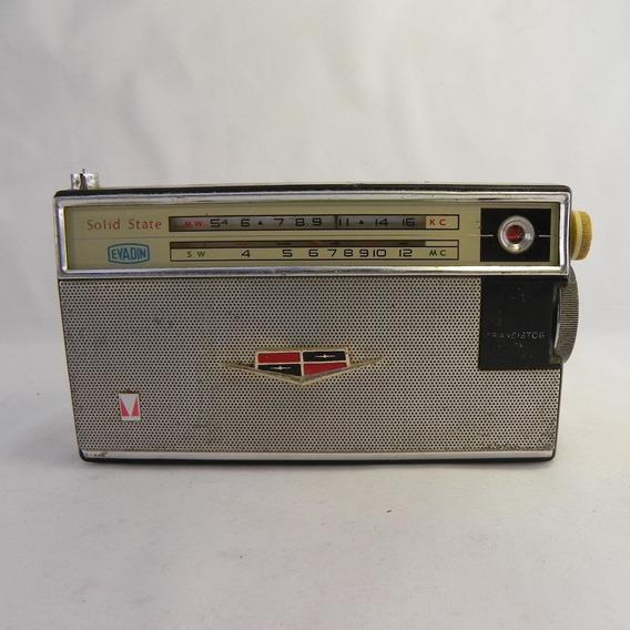 Rádio Vintage Mitsubishi 8x-584t Relíquia - Usado C/ Defeito