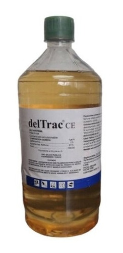 Deltrac Ce 1 Litro Mata Cucarachas Y Chiripas (concentrado)