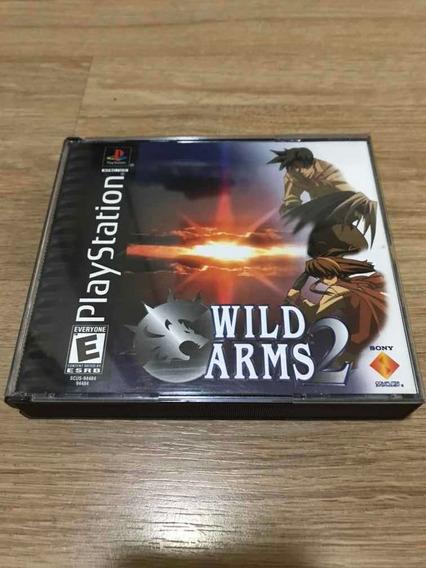 Wild Arms 2 Para Ps1 Americano