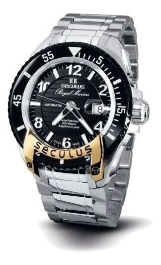 Reloj Seculus 3441.7.2824 M Ssy B Para Caballero Ext De Acero