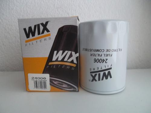 Filtro De Gasoil Ind. Wix 24006 (combustible Sellado)