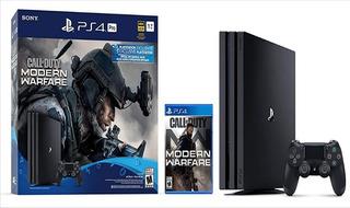 Playstation 4 Pro 1tb Edición Call Of Duty: Modern Warfare