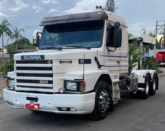 Scania 113 360 Top Line Com Ar Condicionado Kits Trocados