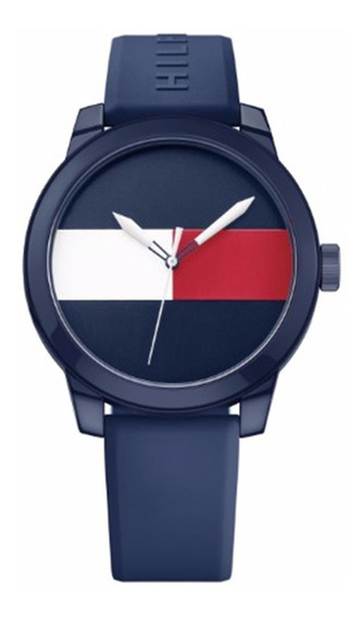 Reloj Tommy Hilfiger Hombre Denim 1791322 Envio Gratis Garantia Oficial