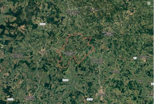 Fazenda Para Venda Em Cassia Dos Coqueiros-sp, Com 140 Alqueires, Dupla Aptidão, Altitude 1000 M, Córrego, Casas E Casa Sede - Fa00052 - 68709975