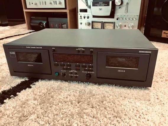 Tape Toca Fita K7 Nad 616 O Melhor Deck Duplo! Regence Audio