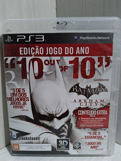 Batman Arkham City Goty Ps3 Usado