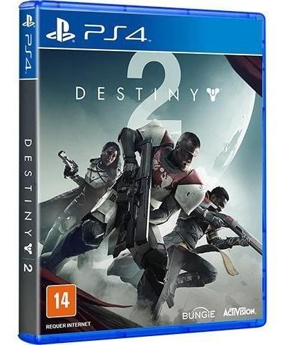Game Destiny 2 Versão Day One Ps4 Midia Fisica