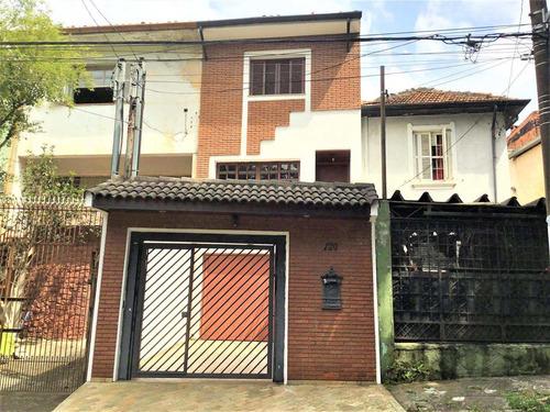 Imagem 1 de 25 de Casa Tríplex 3 Dorms + 2 Vgs No Cambuci, São Paulo - R$ 800 Mil - V4901