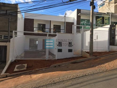 Imagem 1 de 15 de Edinaldo Santos - Casa Duplex 2/4 Suítes Com Varanda E Quintal Ref 717 - 717