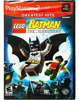 Lego Batman The Videogame Nuevo Ps2 - Playstation 2