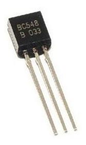 4 Unidades Transistor Bc548 Original Fitado Frete 12,00