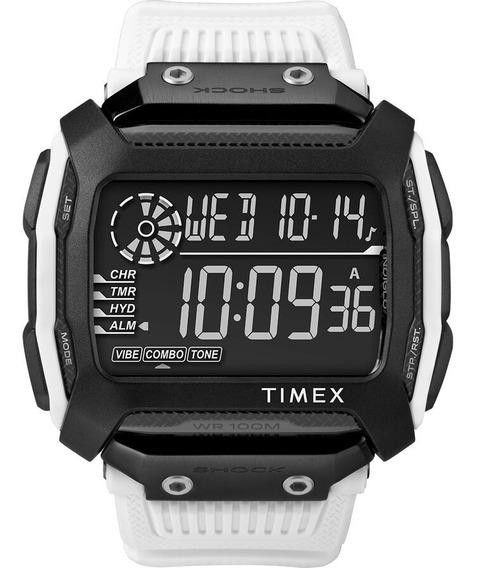 Relógio Masculino Timex Command Shock Branco - Original
