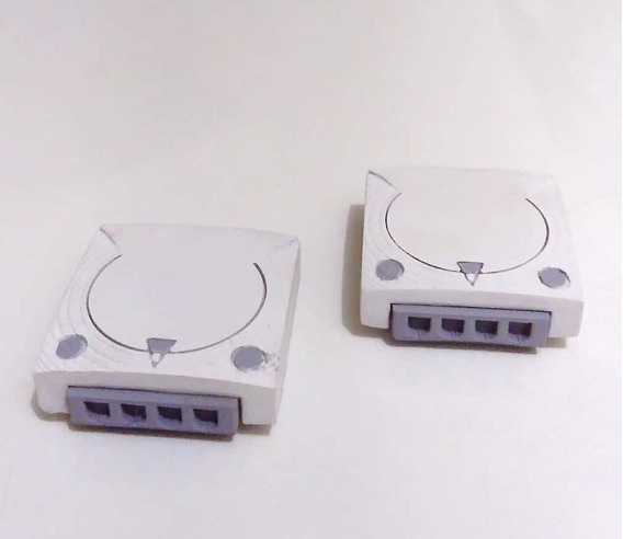 Miniatura Video Game Sega Dreamcast Miniatura Console