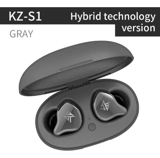 Fone De Ouvido Sem Fio Kz S1 Tecnologia Híbrida Bluetooth
