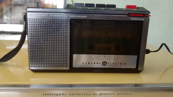 Antigo Gravador Cassette General Eletric