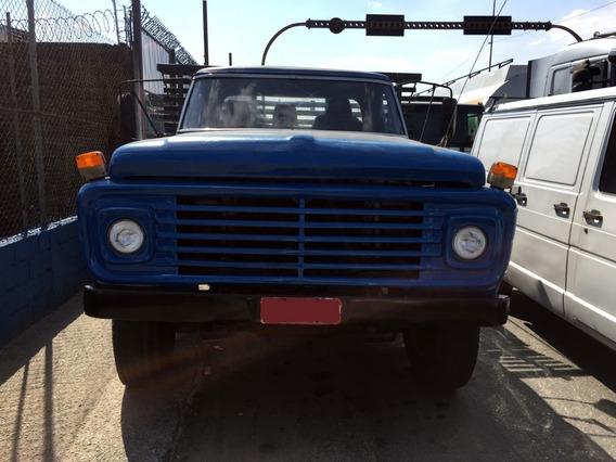 Ford F7000 1980 Carroceria De Madeira