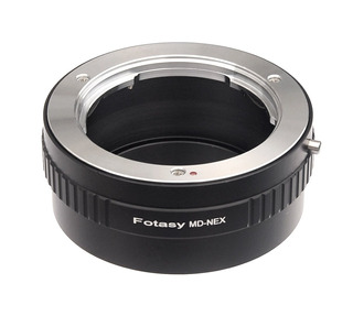 Objetivo Fotasy Minolta Md Para Sony E Mount Nex Camera Nex