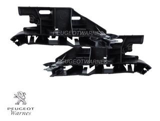 Soportes de soporte de montaje de Parachoques Delantero Set sirve para Peugeot 307 2001-2005