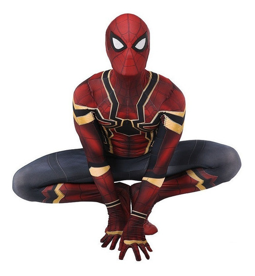 Disfraz Traje Spiderman Homecoming Adult Iron-spider Cosplay