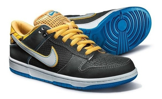 Nike Sb Dunk Low Brazil Custom Series Rodrigo Petersen