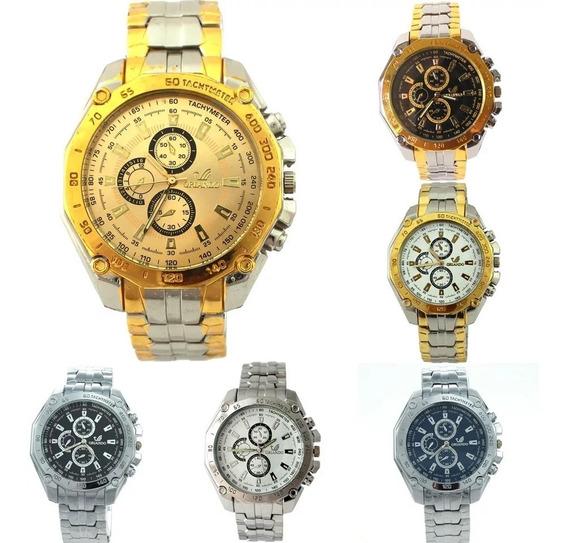 Kit 6 Relógio Quartzo Orlando Lindos