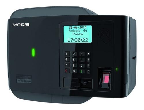 Relógio De Ponto Biométrico Madis