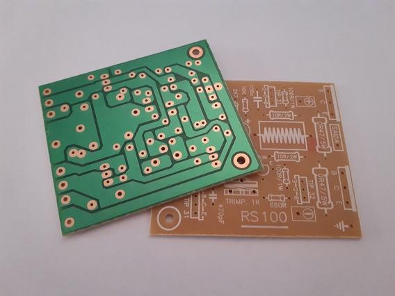 Placa Amplificador 100w Rms Para 2sc5200/2sa1943