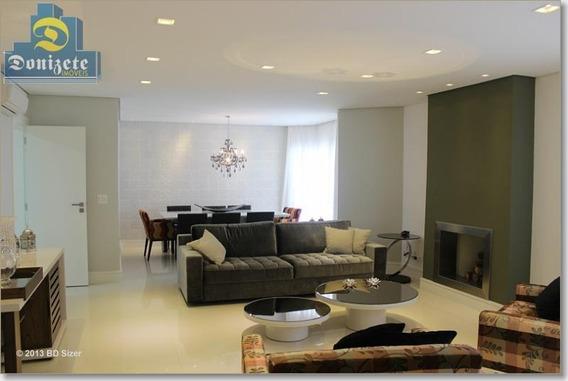 Apartamento Com 4 Dormitórios À Venda, 189 M² Por R$ 1.350.000,01 - Centro - Santo André/sp - Ap3752