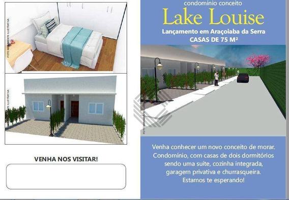Casa Com 2 Dormitórios À Venda, 75 M² Por R$ 195.000,00 - Jardim Flora - Araçoiaba Da Serra/sp - Ca6425