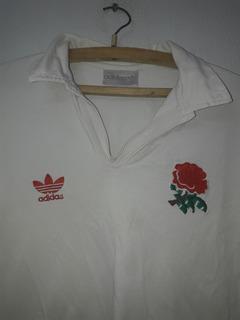 Buzo Camiseta Rugby adidas Inglaterra Talle 2