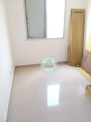 Imagem 1 de 19 de Apartamento Com 2 Dormitórios À Venda, 60 M² Por R$ 260.000 - Condomínio Terra Viva- Parque Terra Nova - São Bernardo Do Campo/sp - Ap1671