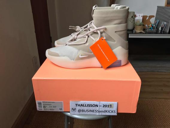 Tênis Nike Air Fog X Fear Of God Oatmeal Off White Jordan