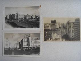 Recife Foto Postal Conjunto De Três Ponte Duarte Coelho