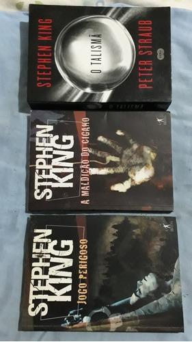 Livro Talismã+jogo Perigoso+maldição Cigan Stephen King Vl59
