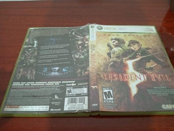 Resident Evil 5 Gold Edition Original Usado Xbox 360 Jh1##
