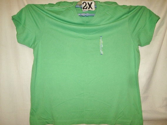 Camiseta Casual Verde Talla 2 X Old Navy