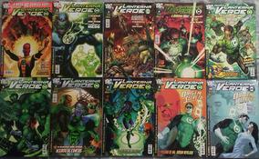 Lanterna Verde 01 Ao 45 + Procurado + Lado Negro + Sagas
