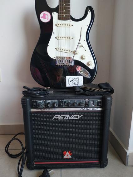 Guitarra Samick + Amplificador Peavey