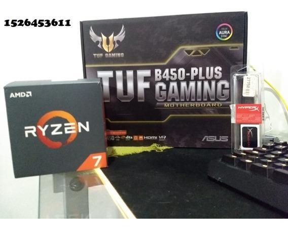 Combo Actualizacion Amd Ryzen 7 2700x / 16gb Ram / Asus Tuf